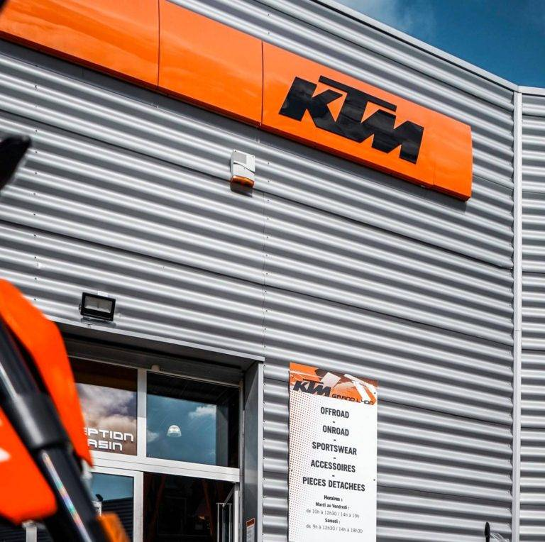 Concession agréée KTM Lyon