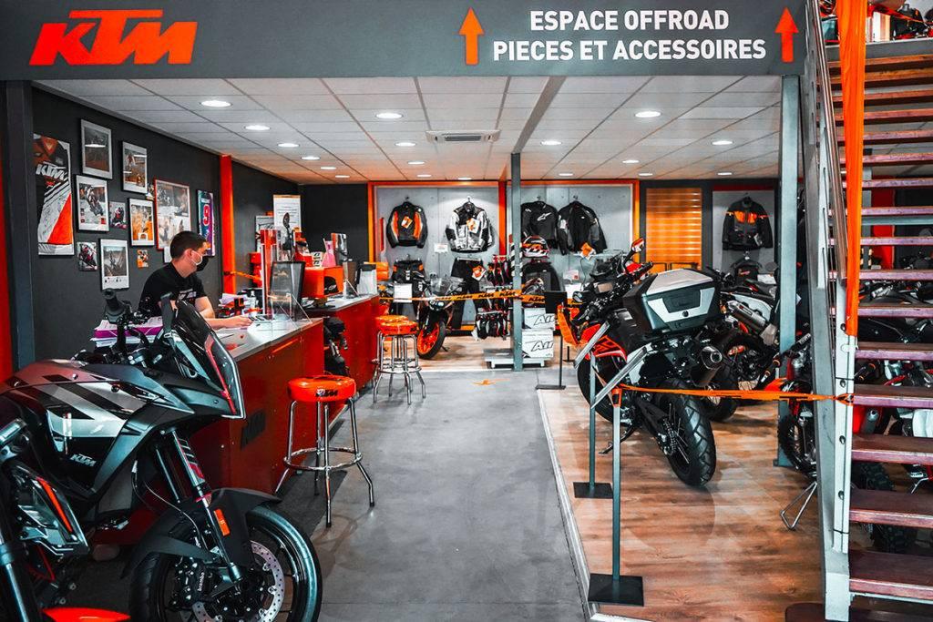 KTM neuves concessionnaire Lyon
