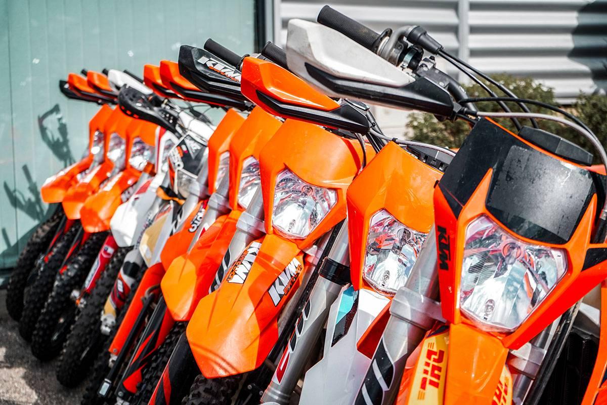 Concessionnaire marque motos KTM à Lyon