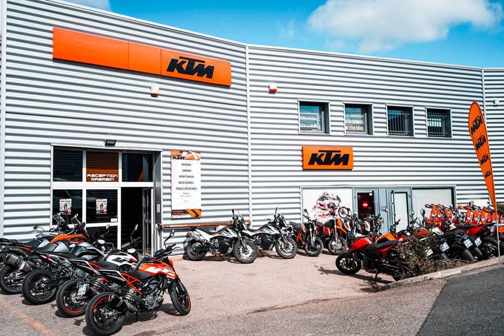 Motos neuves et occasion KTM Lyon